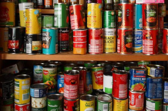 Tins, Cans & Packets